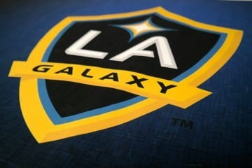 LA Galaxy Logo - Photo By Josh Guesman