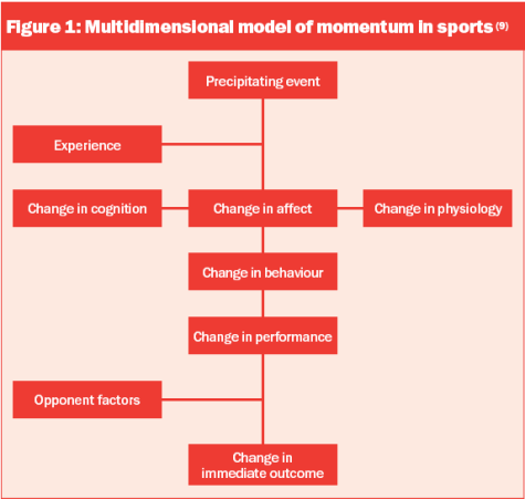 Multidimensional model of momentum in sports.