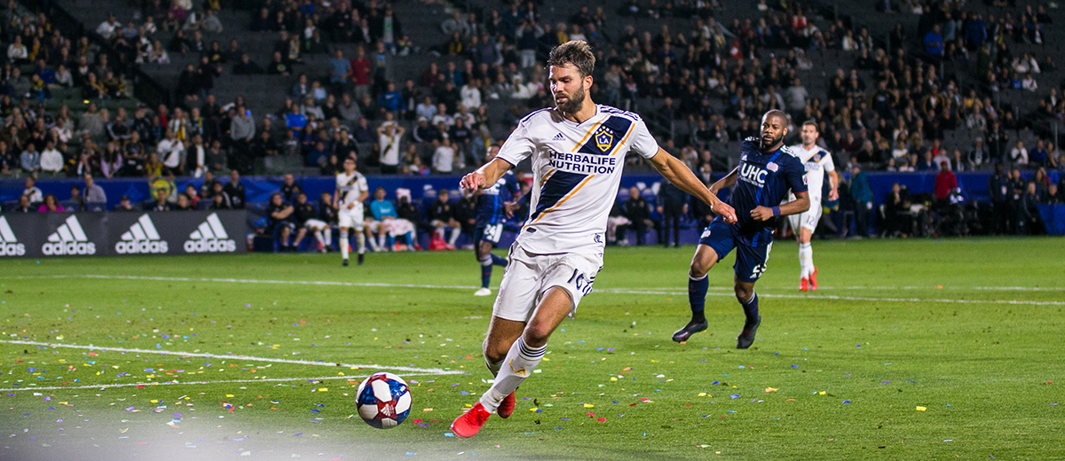 Jorgen Skjelvik plays for the LA galaxy -- Photo by Brittany Campbell